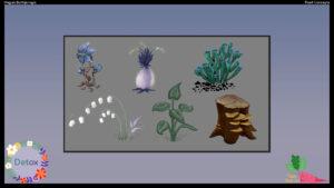 Detox Game Concept Art 01 - Artcade Student Project | AIE